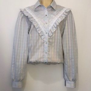 Vintage Stage West by Prior western snap shirt